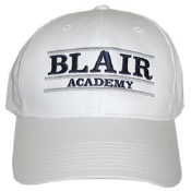 White BLAIR ACADEMY Hat